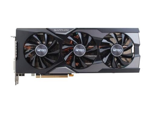 SAPPHIRE NITRO Radeon R9 Fury 100379NTOC+SR 4GB 4096-Bit HBM TRI-X OC+ (UEFI) Video Card - $285