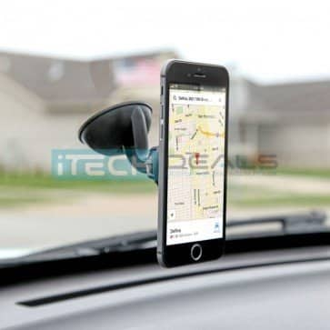 iTD Gear Magnetic Windshield Car Mount Holder for iPhone & Android $4 plus free shipping