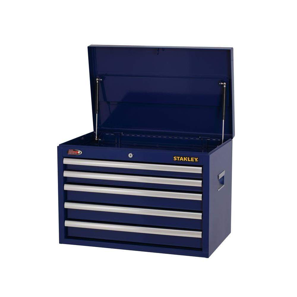 Stanley Model H5CHSBL 26 in. W 5-Drawer Tool Chest, Blue $64.50 Home Depot Free store PU + TAX + S/H $5.99? 50% off!