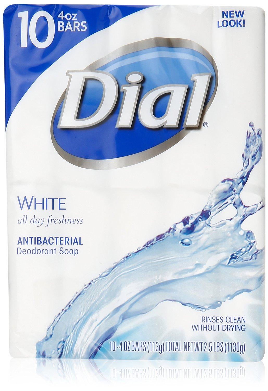 3-Pack of 10-Count Dial Antibacterial Deodorant Soap $9.88 Free S&H @Amazon