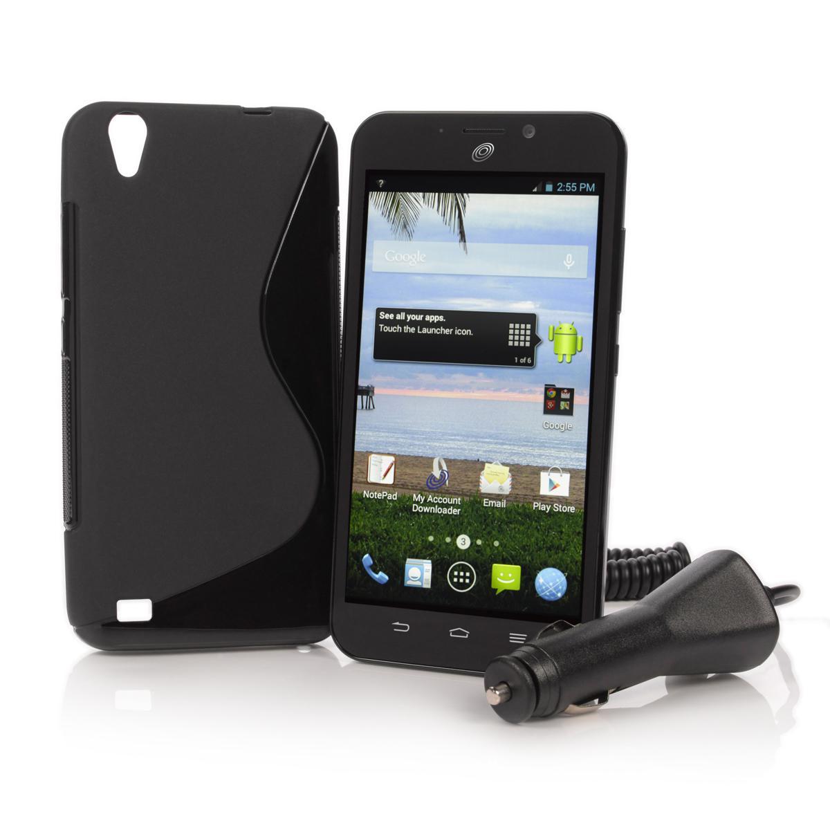 TracFone ZTE Quartz Smartphone + 1200 Minutes/Text/Data  $60 w/ Visa Checkout & More