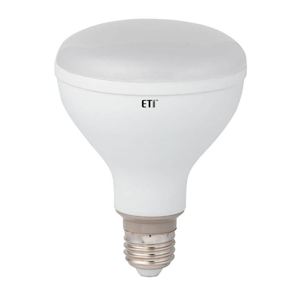 12-Pack Eti 65W Equivalent BR30 Dimmable LED Light Bulb (2700K)  $32 & More + Free Store Pickup