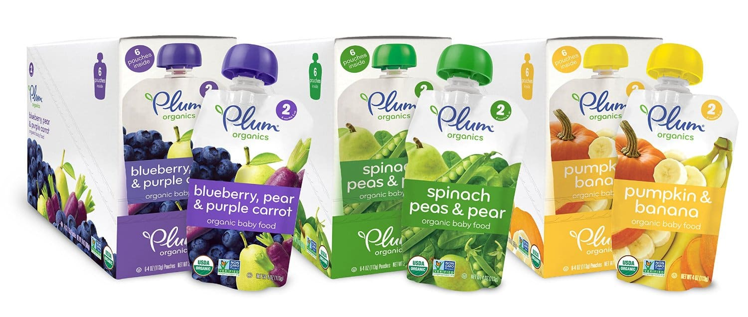 Amazon FSSS: Plum Organics Second Blends Variety Pack, 4 Oz (Pack of 18) - $11.80 after coupon and S&S