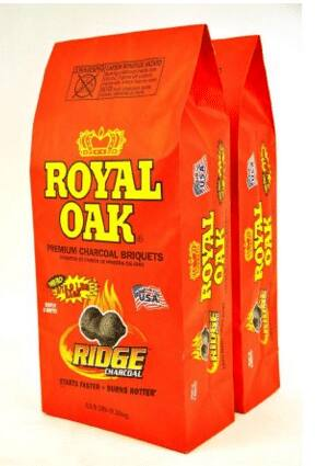 Royal Oaks Ridge Charcoal Briquets 12lb Twin packs (25lb) for $5.00 @Walmart