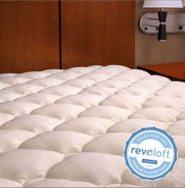 Extra Plush Bamboo Mattress Topper (manufacturer defects): King  $45 & More + Free S&H