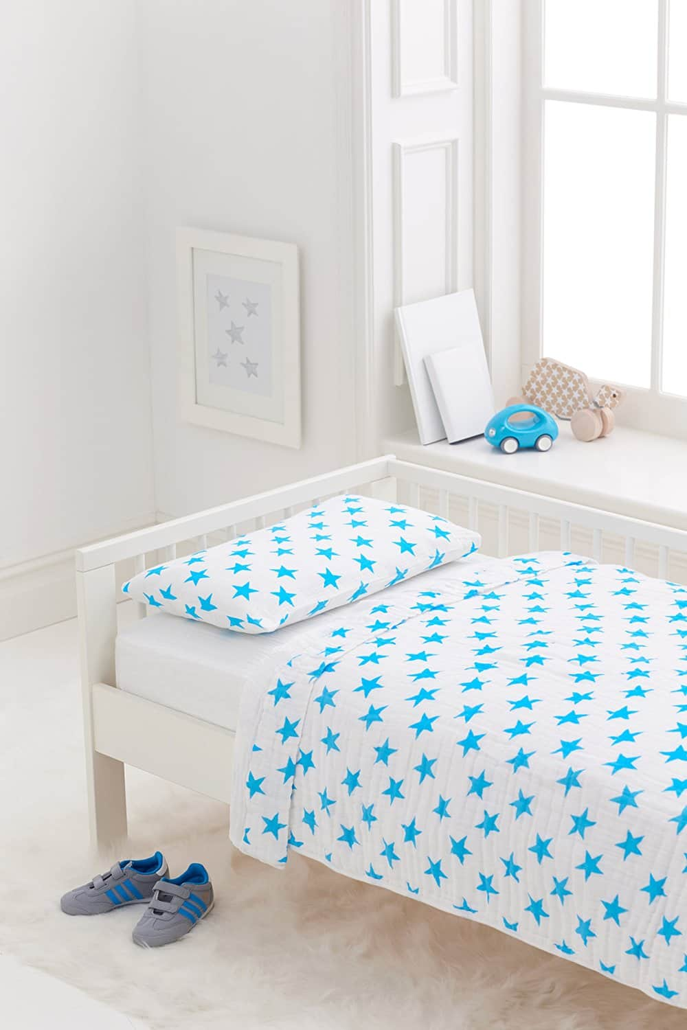 Aden + Anais: Toddler Bed In A Bag $52.50, 3-Pack Snap Bib  $12 & More