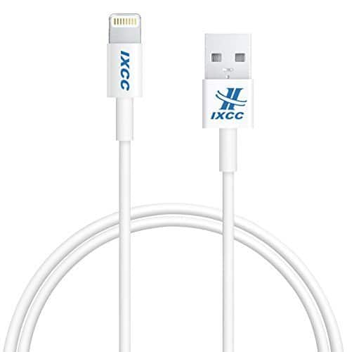 *Deal is back* iXCC 3ft Apple MFi Certified Lightning 8pin to USB Charge and Sync Cable $3.50 AC, FS w/ Prime