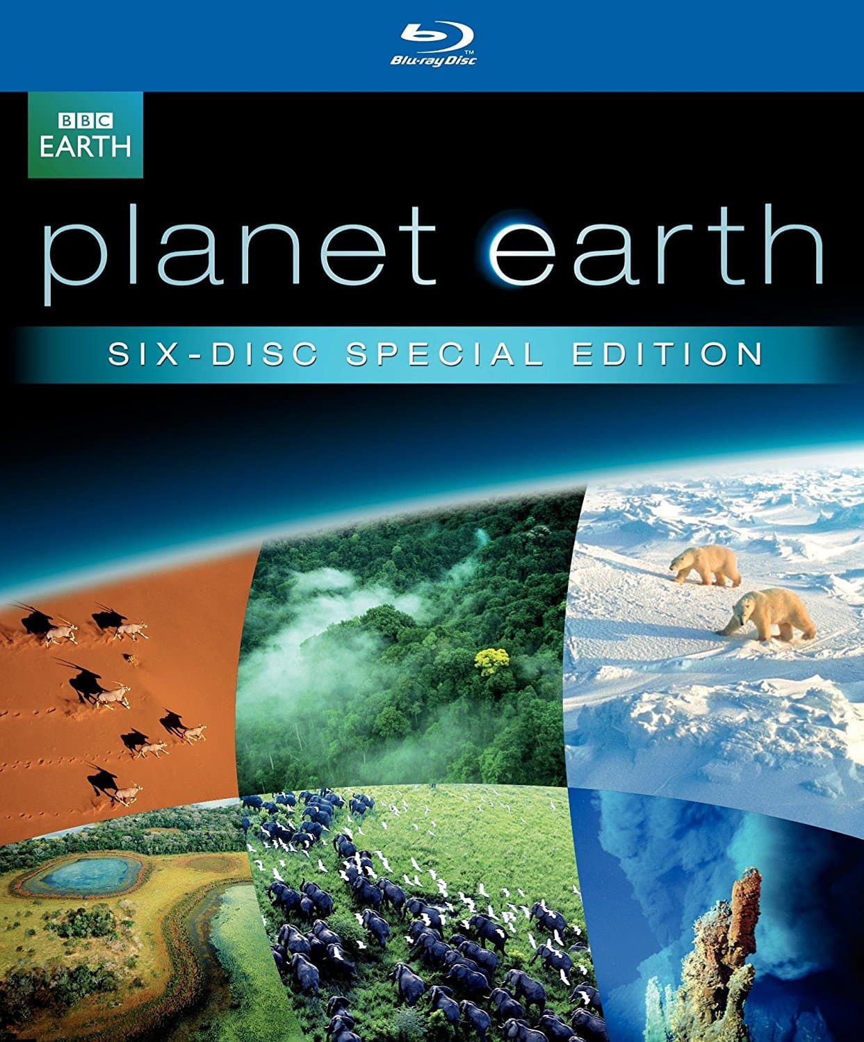 Blu-rays: Planet Earth Special Edition Gift Set, Hunt  $15 & More + Free Store Pickup