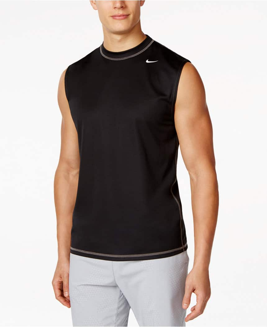 Nike Men's Swim Apparel: Swim Shorts or Dri-Fit Sleeveless Shirt  $10