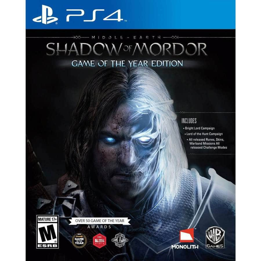 Playstation Store (PSN) Warner Brothers and NISA Publisher Sales until 10/17 - Middle-earth: Shadow of Mordor GOTY $12, Disgaea franchise titles starting at $5 PS Vita, PS3, PS4