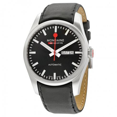 Mondaine Men's Retro Automatic Watch w/ Leather Strap  $249 & More + Free S&H