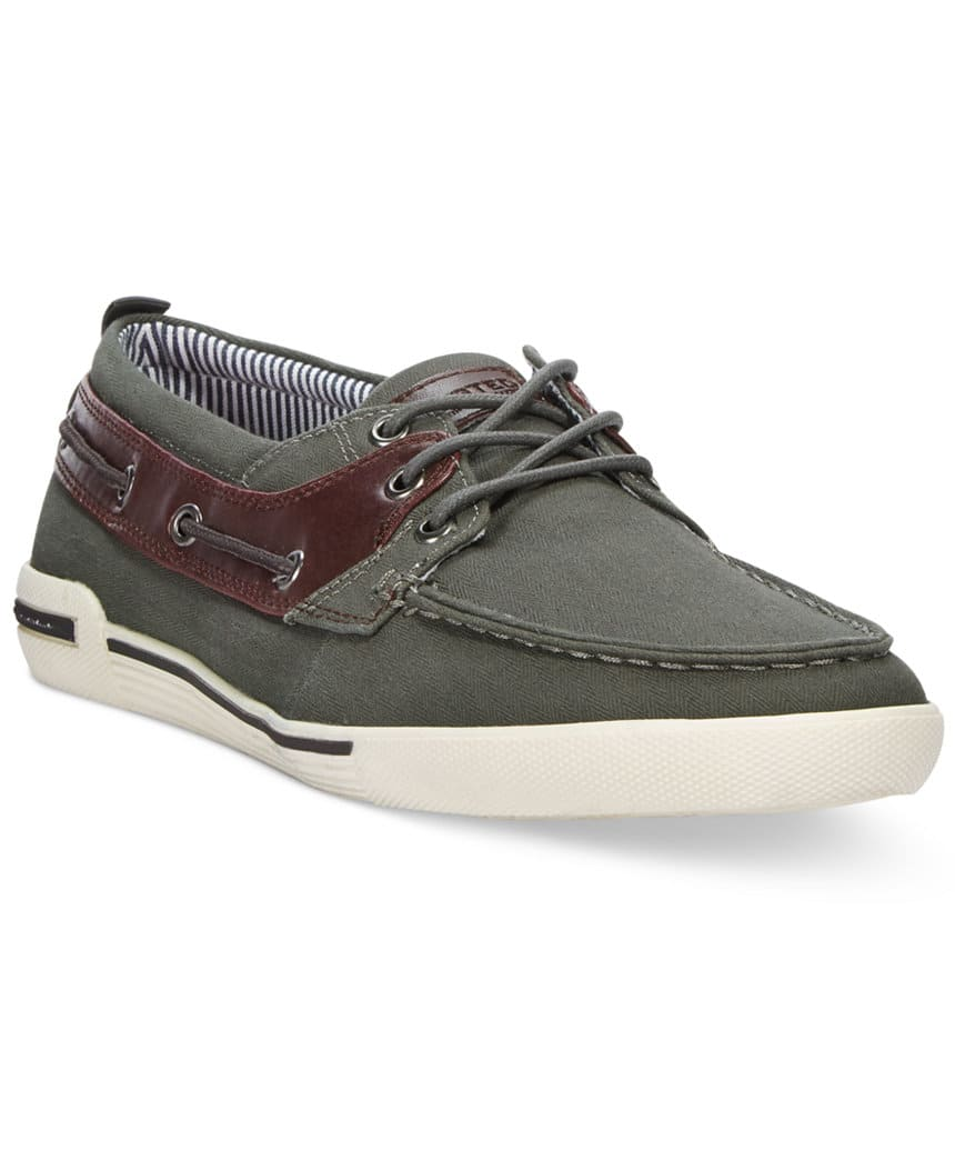 Macy's: Kenneth Cole Unlisted Men's Canvas Anchor Shot Boat Shoes for $14.99 + FS with beauty filler