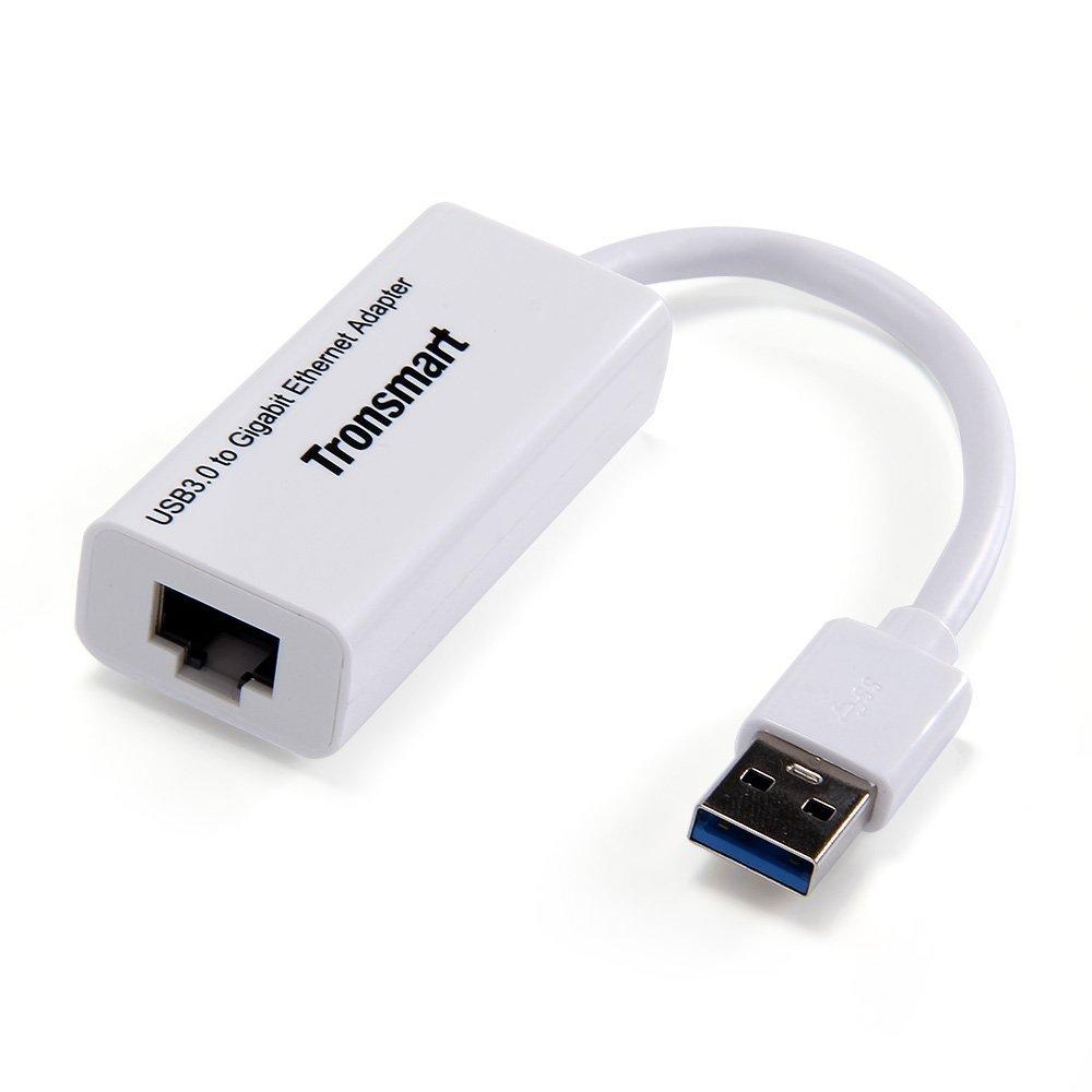 Tronsmart USB 3.0 to RJ45 Gigabit Ethernet Network Adapter $6 AC + FSSS!