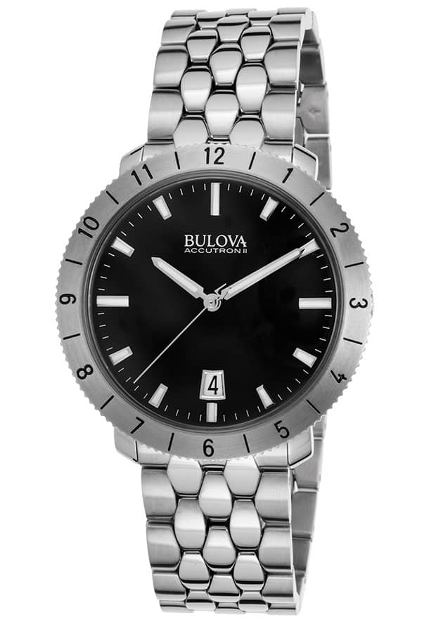 Bulova Men's Accutron II Snorkel Watch w/ Blue Dial & Stainless Steel Bracelet $135 & More + Free S&H