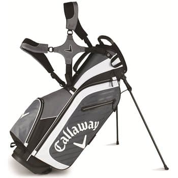 GlobalGolf: Callaway Highland Stand or Cart Bag (Charcoal/Black/White) - $71.99 Plus Free Shipping
