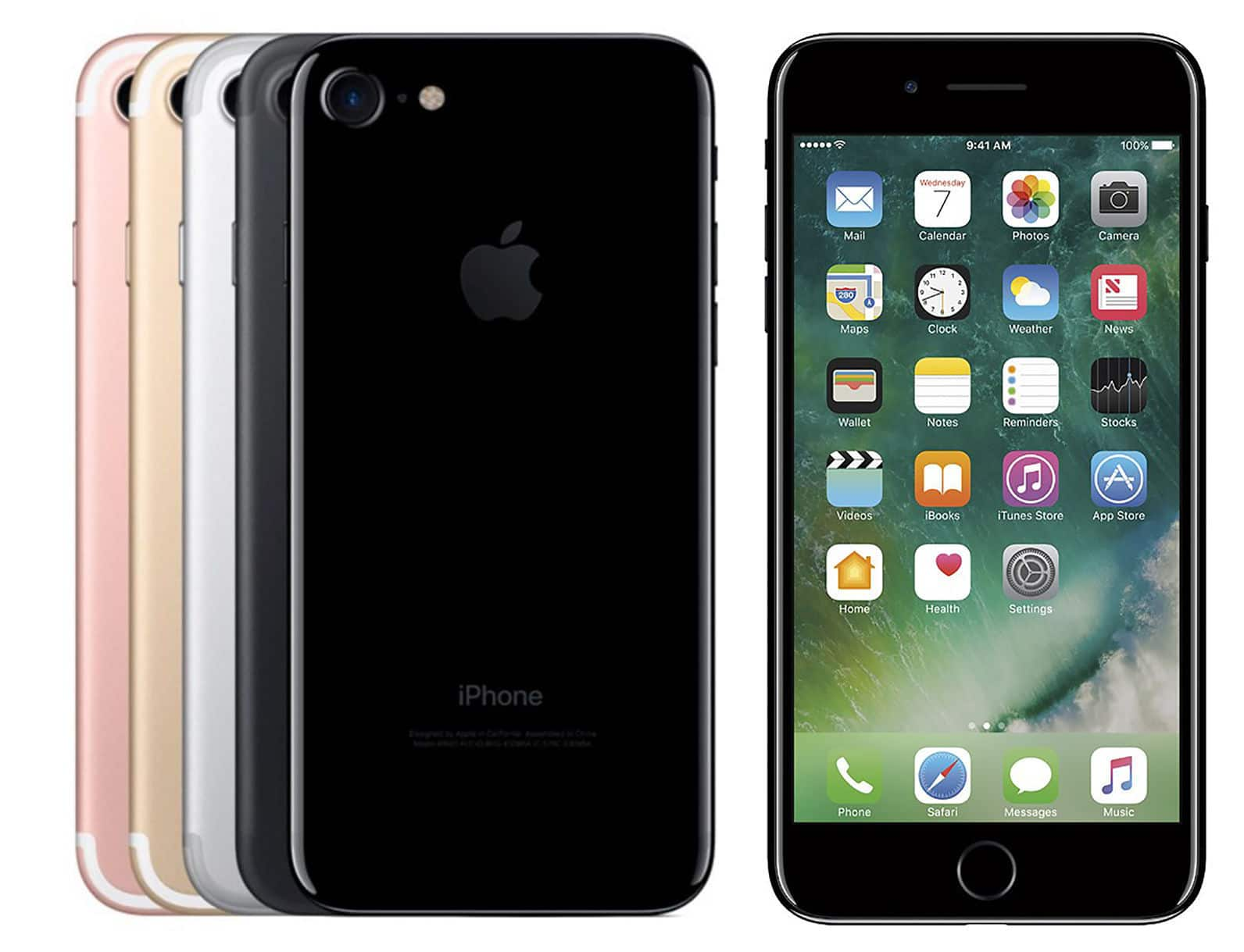 apple iphone 7 unlocked smartphone 256gb 770 128gb. Black Bedroom Furniture Sets. Home Design Ideas