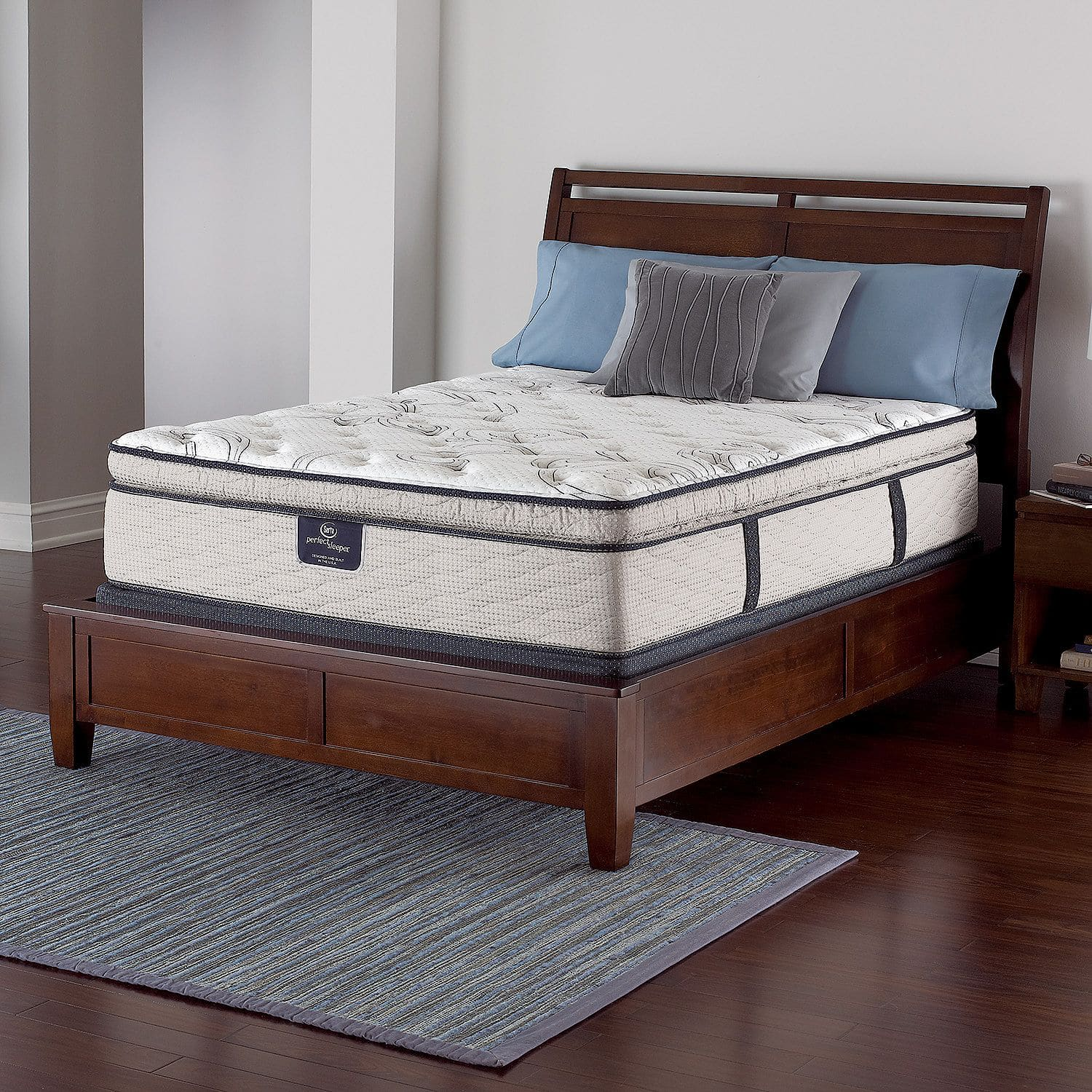 Serta Perfect Sleeper Castleview Spt Mattress Set Queen
