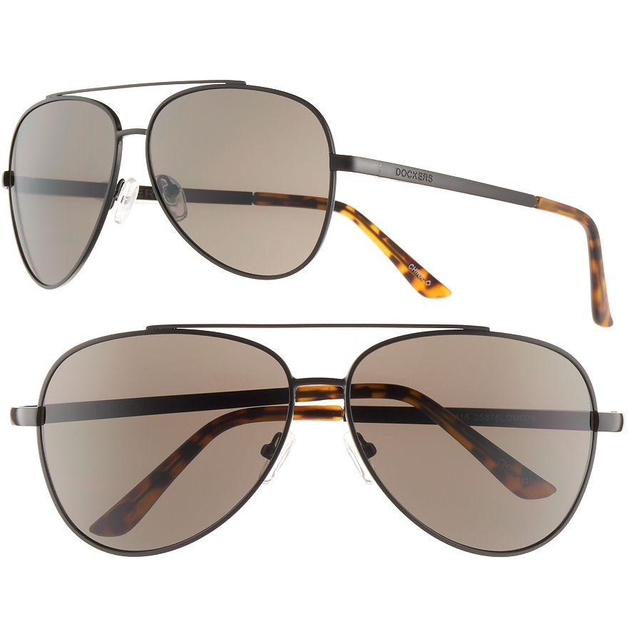 f82caeeb49 Kohl  39 s Cardholders  Dockers Men  39 s Aviator Sunglasses -