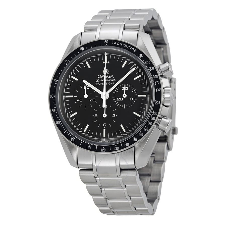 Omega Mens Speedmaster Chronograph Moonwatch W Stainless Steel