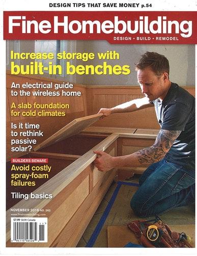 Fine homebuilding magazine page 3 for Fine homebuilding