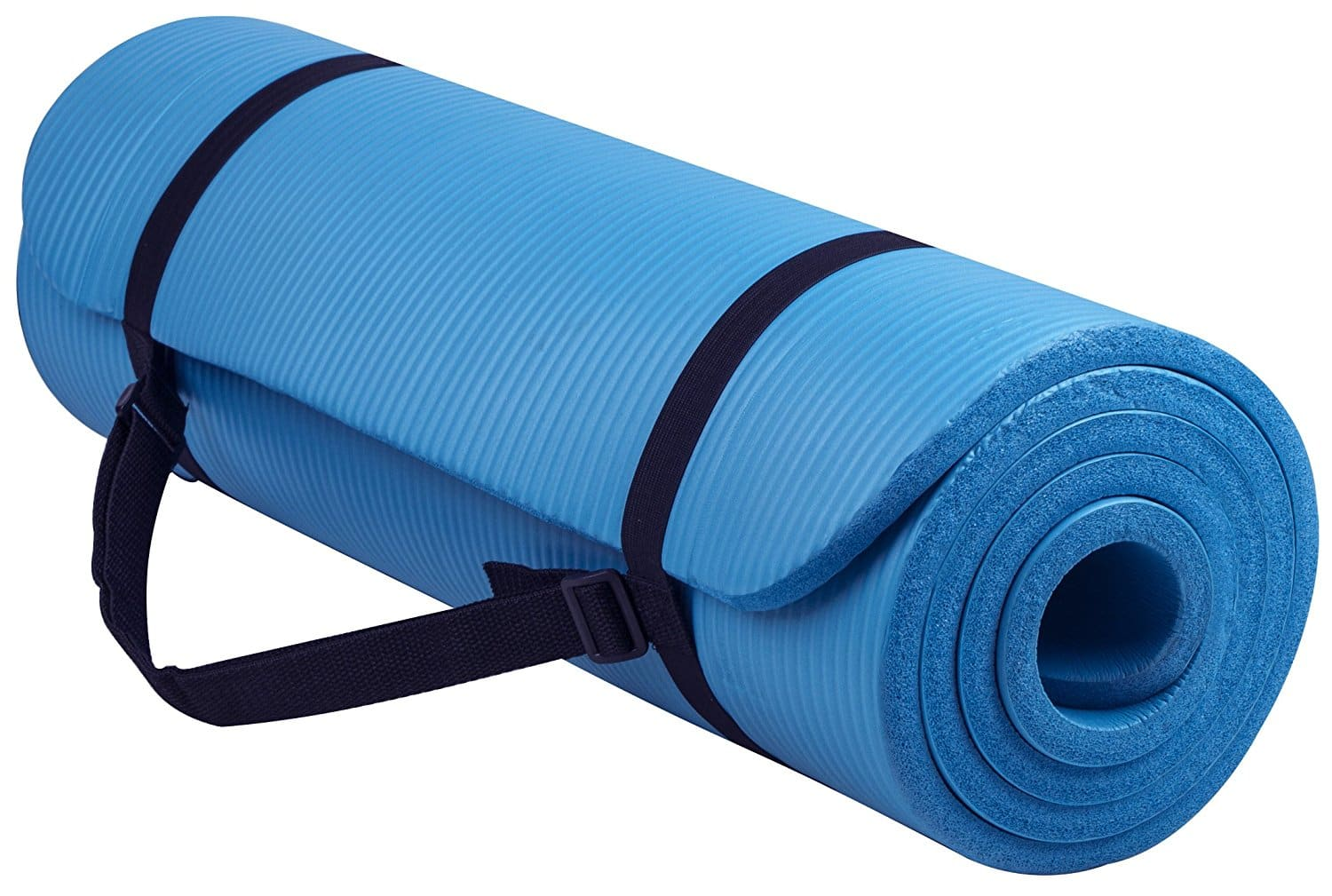 BalanceFrom All-Purpose Exercise Yoga Mat (Blue) $12.17 + Free Store Pickup at Walmart or Free S&H w/ Prime