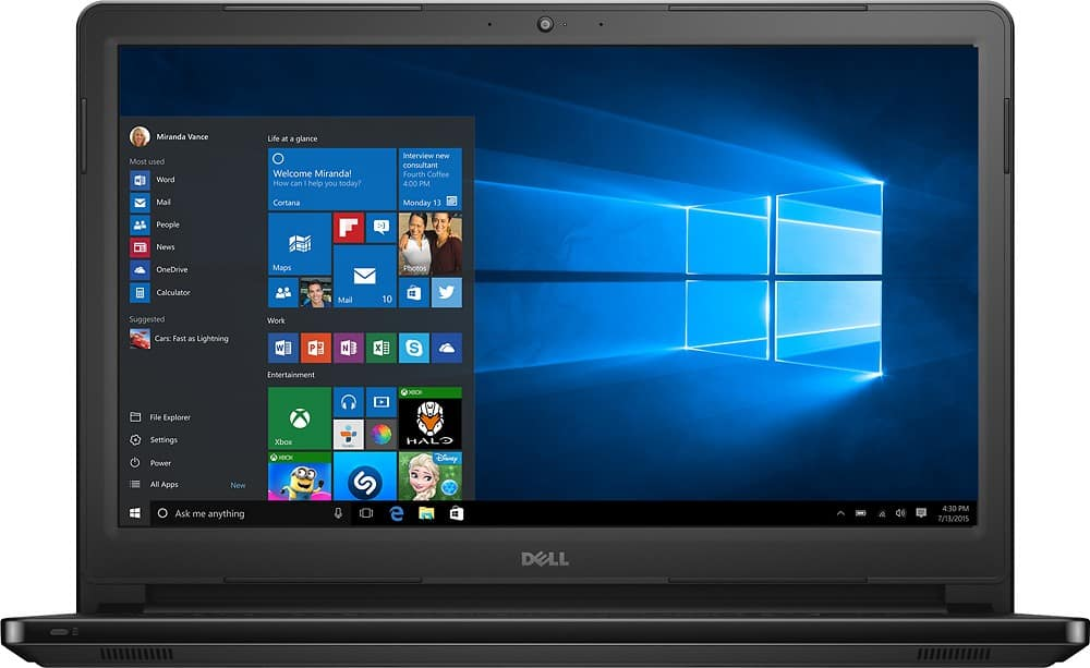 Bestbuy - Dell i3 6gb laptop -$299.99