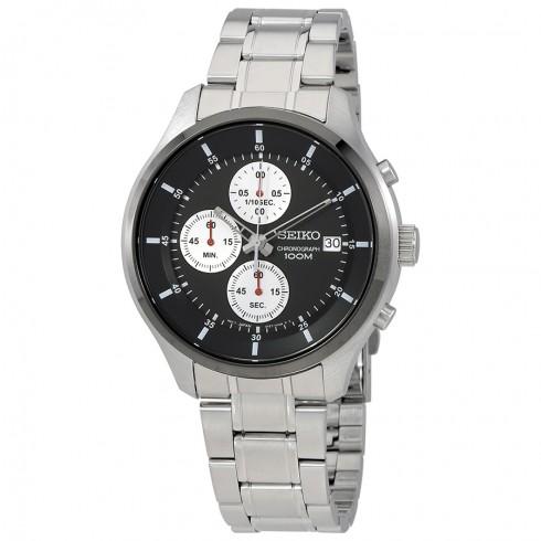 Seiko Men's Neo Sports Chronograph Watch w/ Stainless Steel Bracelet $79.99 + Free Shipping