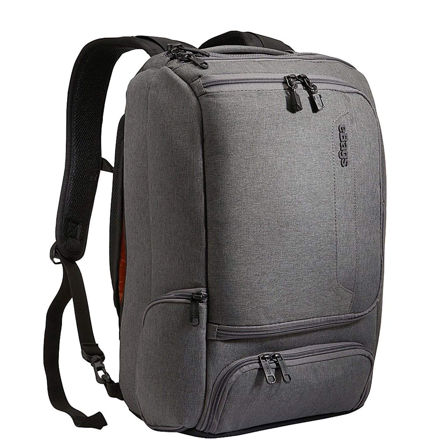 eBags Professional Slim Laptop Backpack (Heathered Graphite ...