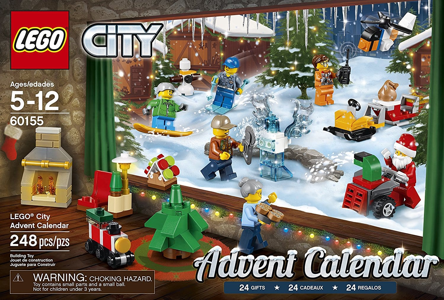 lego city advent calendar. Black Bedroom Furniture Sets. Home Design Ideas