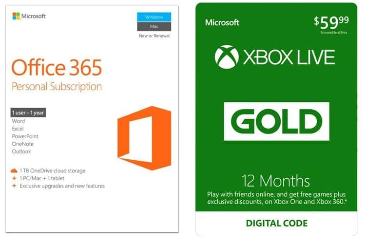 Xbox Live Gold 12 Month Digital Code Deal - Digital Photos and