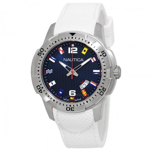 Nautica Men's Blue Dial Watch $40 + Free Shipping $39.99