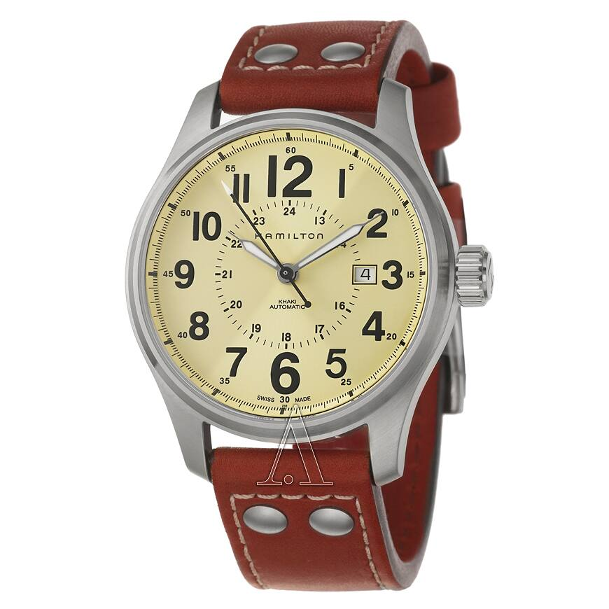 Hamilton Men's Khaki Field Automatic Watch $325 + Free Shipping