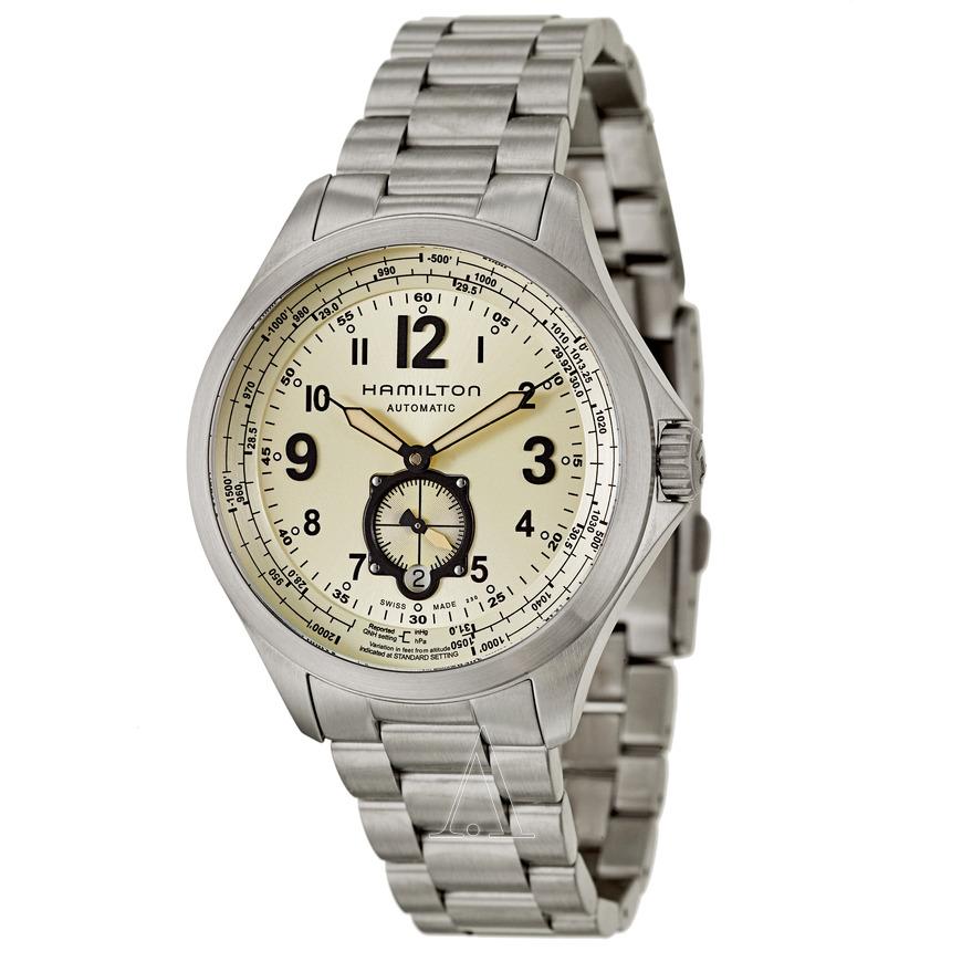 Hamilton Men's Khaki Aviation QNE Automatic Watch $399 + Free Shipping