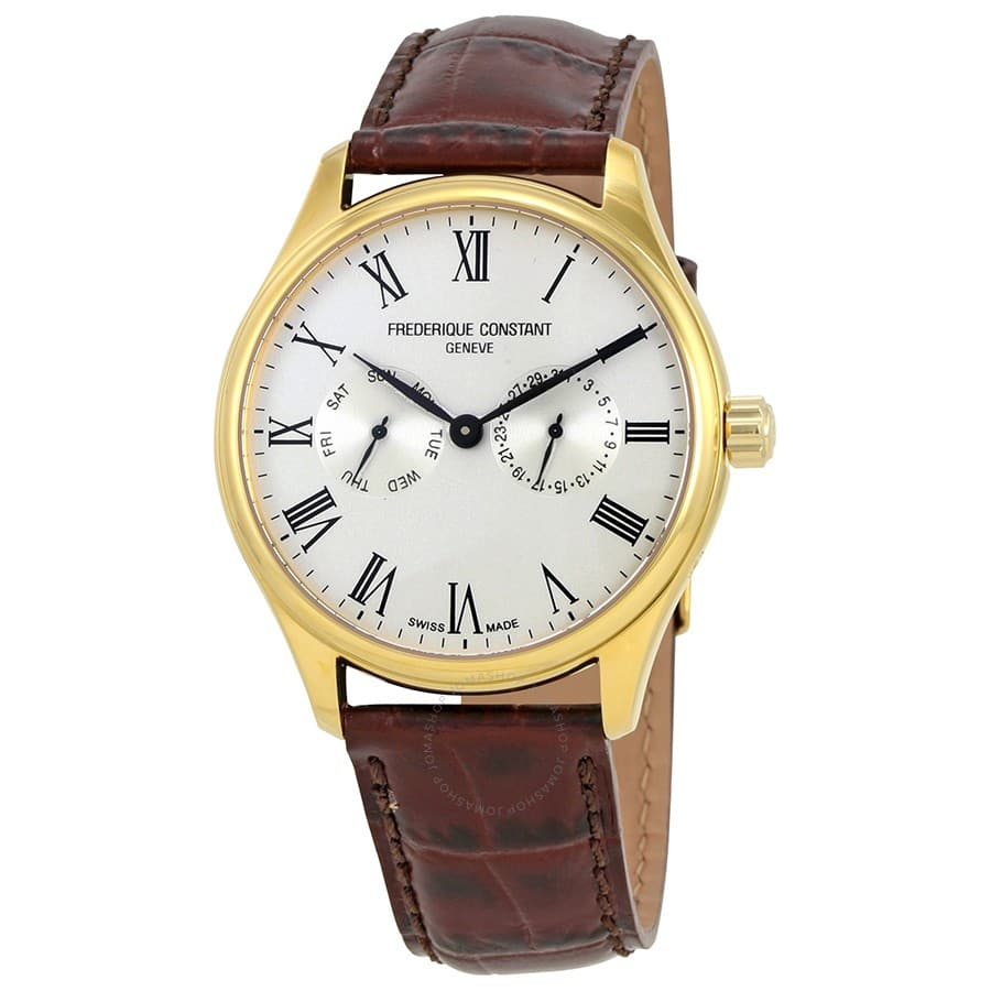 Frederique Constant Classics Men's Watch w/ Leather Strap $300 + Free Shipping $299.99