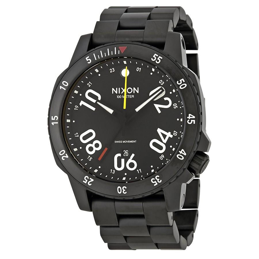 Nixon Men's Ranger GMT Watch w/ Stainless Steel Bracelet $100 + Free Shipping $99.99