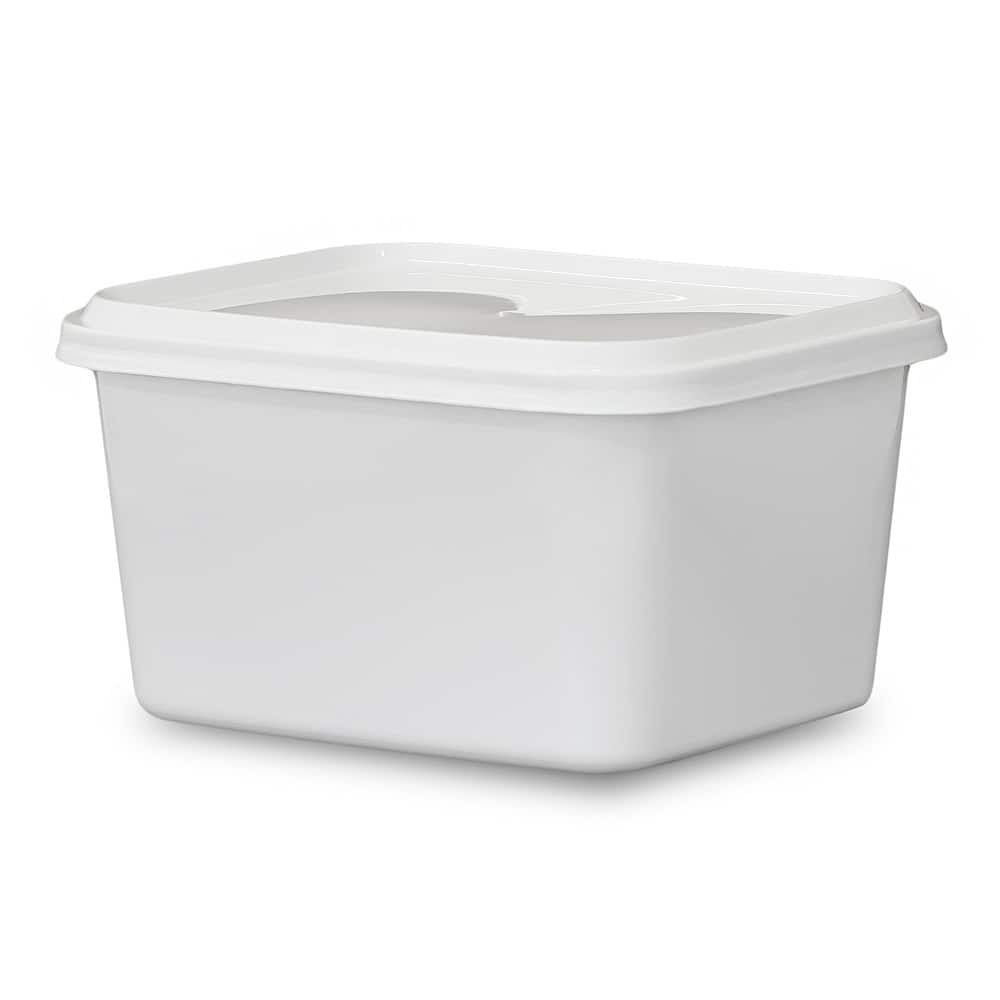50-Count 12oz BPA Free Food Grade Qubic Container w/ Lid $12.35 & More + Free Shipping