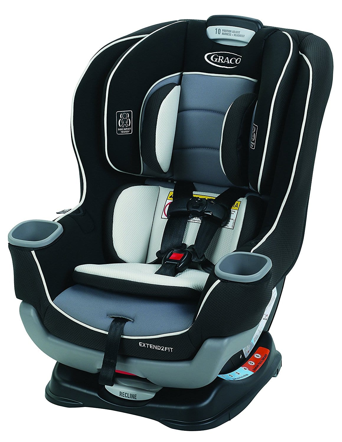 Graco Extend2Fit Convertible Car Seat (Gotham) $101.31 + Free Shipping
