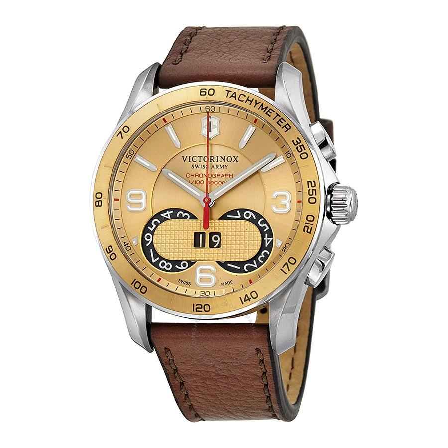 Victorinox Men's Swiss Army Chrono Classic Watch: w/ Bracelet $190, w/ Leather Strap $175 + Free Shipping