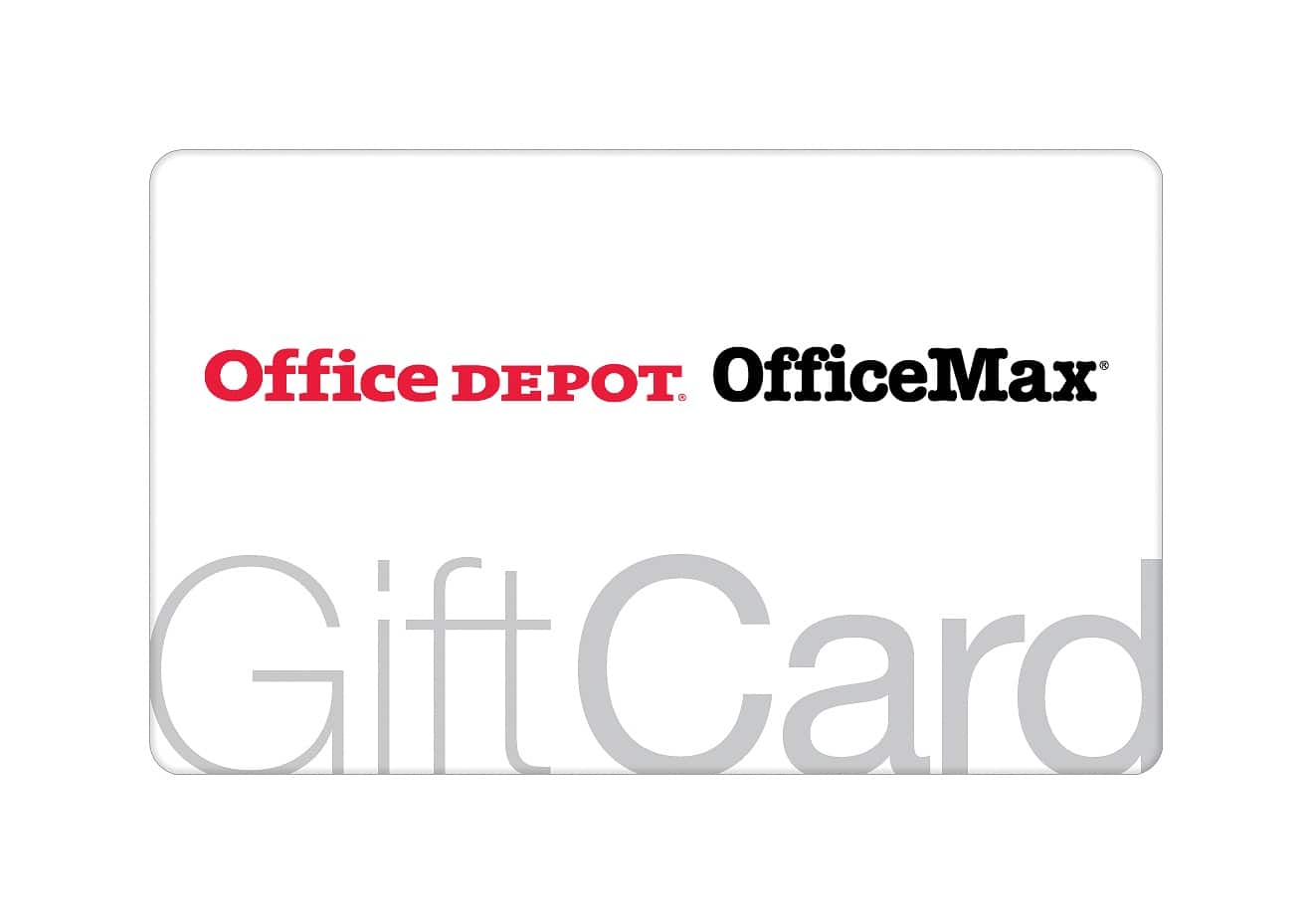 100 office depot officemax gift card slickdeals net