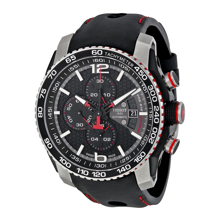 4fa6a8434 Tissot Men's PRS 516 Automatic Chronograph Watch - Slickdeals.net