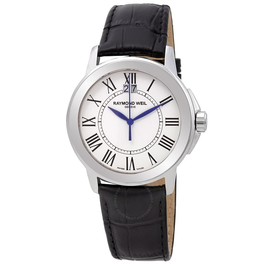 Raymond Weil Men's Tradition Watch w/ Leather Strap $280 + Free Shipping
