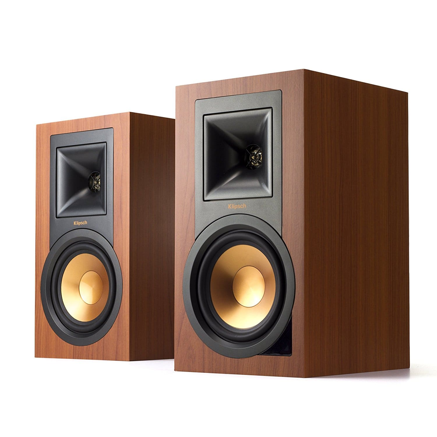 Pair of Klipsch R-15PM Powered Monitor Speakers (Cherry ...