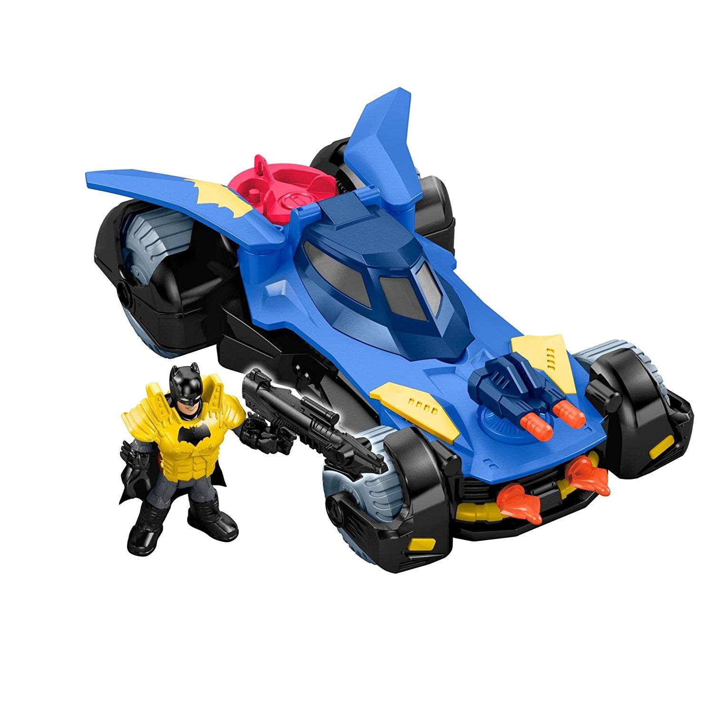 Fisher price imaginext dc super friends batmobile slickdeals deal image buycottarizona