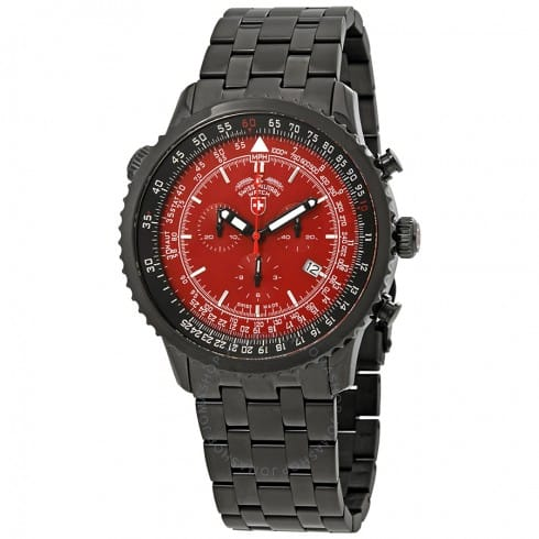Swiss Military Men's Thunderbolt Chronograph Watch (various styles) $299 & More + Free One Day Shipping