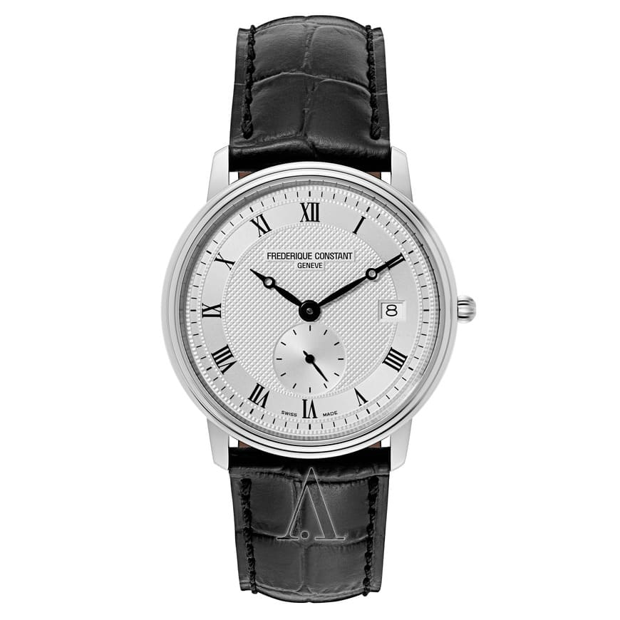 Frederique Constant Men's Slimline Watch w/ Leather Strap $315 + Free Shipping