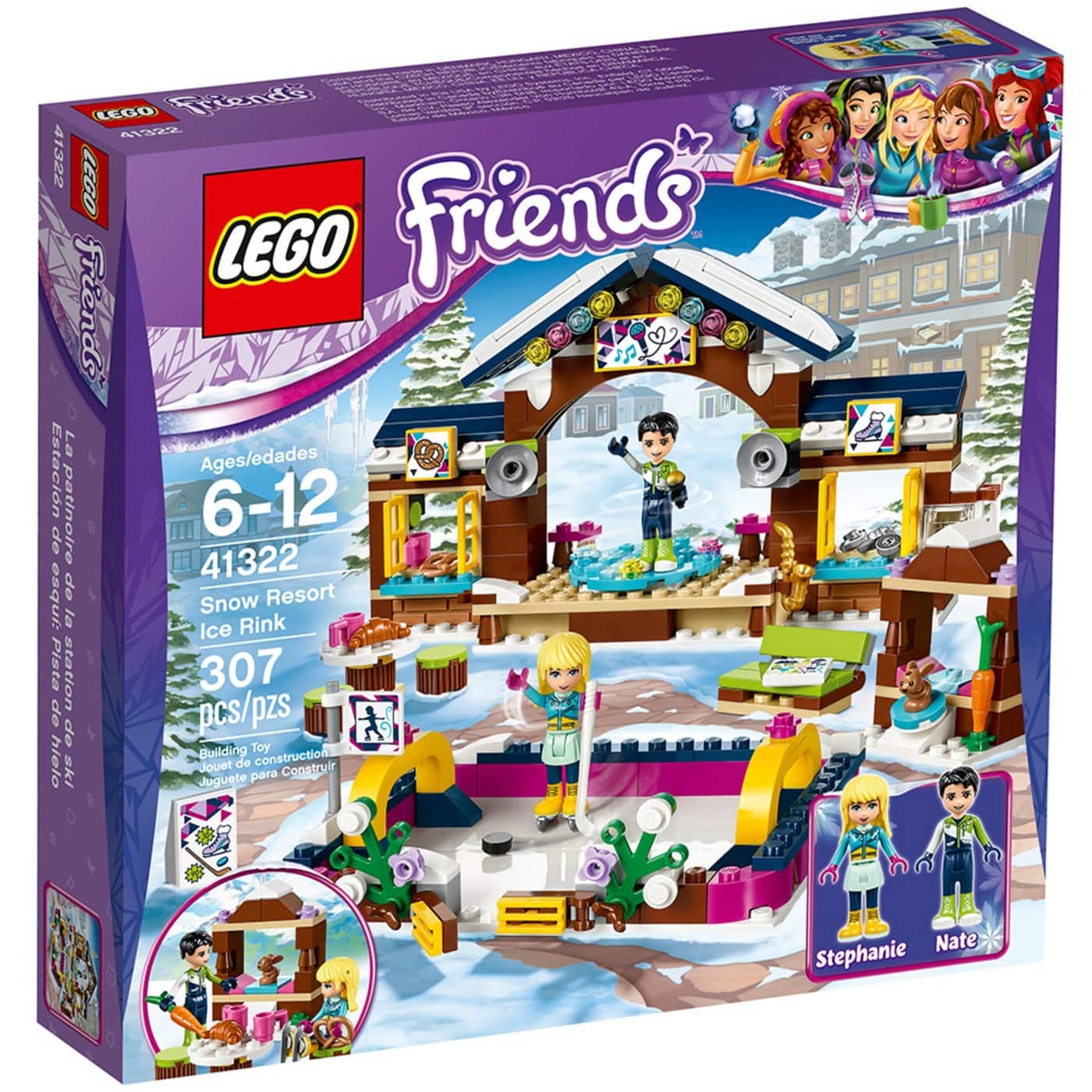 Lego Sets Lego Friends Snow Resort Ice Rink Or Heartlake Pizzeria
