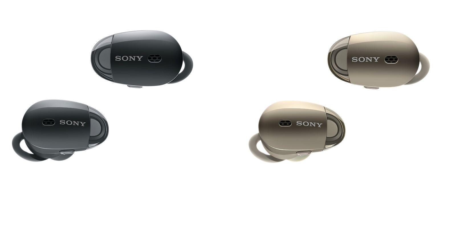Sony Wf 1000x Bt Noise Canceling In Ear Earphones W Mic Nfc Headphones Wireless Xb950n1 Extra Bass Deal Image