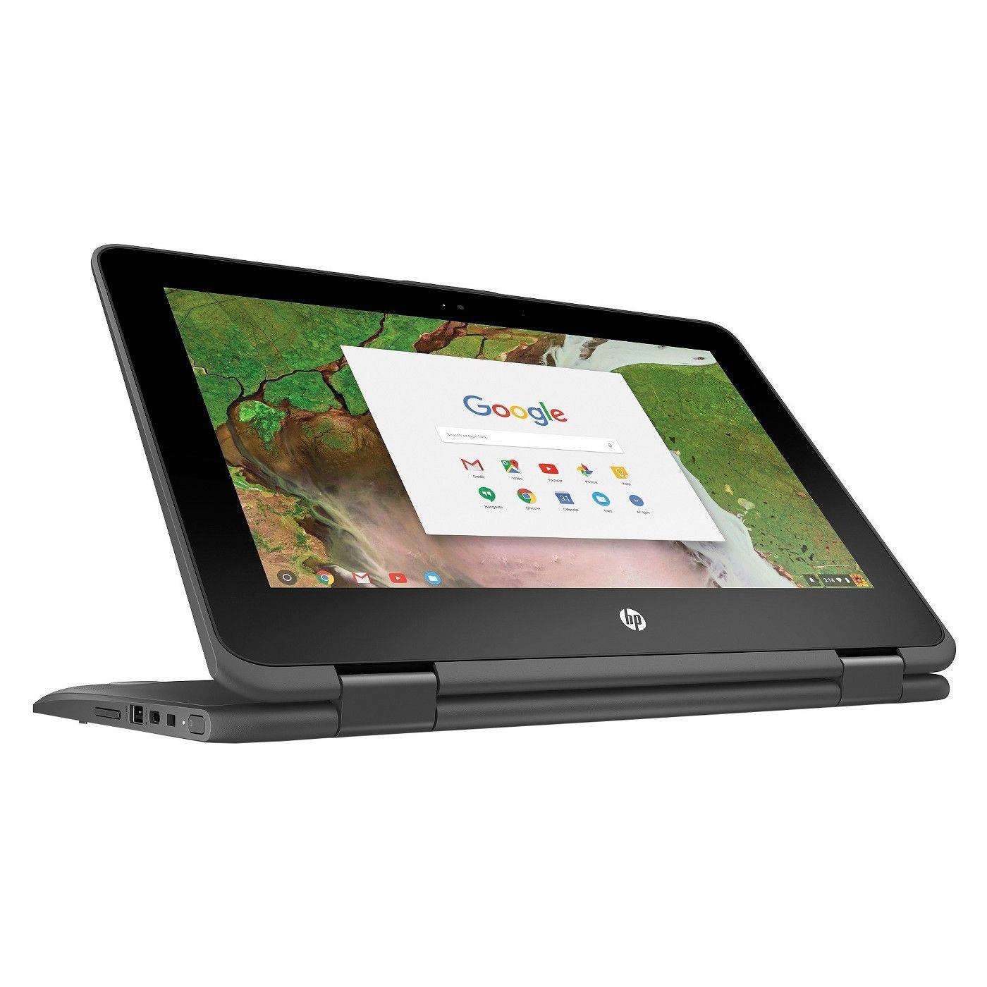 Hp X360 116 Touch Chromebook Refurb N3350 4gb Ddr4 16gb Emmc Lenovo A3500 Midnight Blue Deal Image