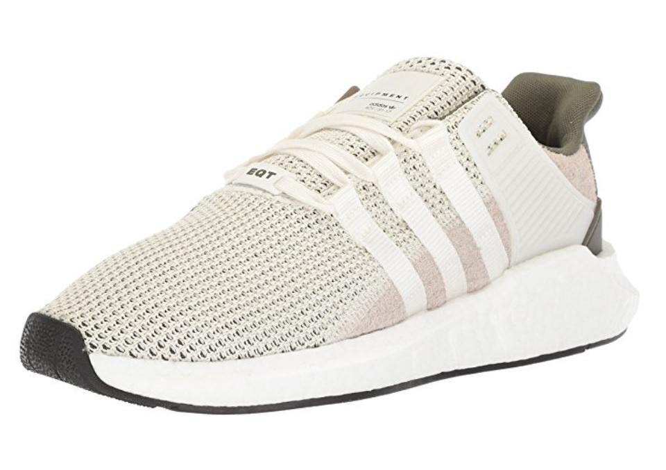 adidas originali degli uomini eqt sostegno 93 / 17 scarpa da corsa (bianco