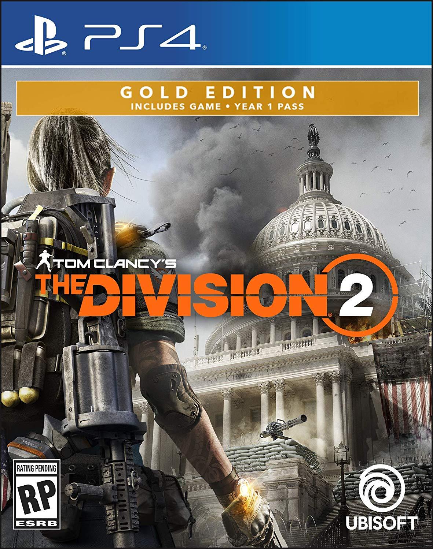 Prime Members: Tom Clancy's The Division 2 Gold SB Ed  Pre